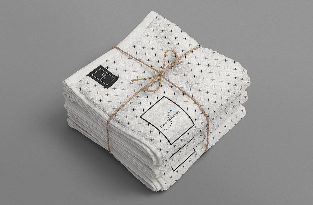 ParConcept towel logo