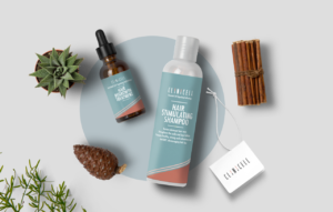 Hair & Skin product lines for Hong Kong-based cosmetic brand CLINICELL
