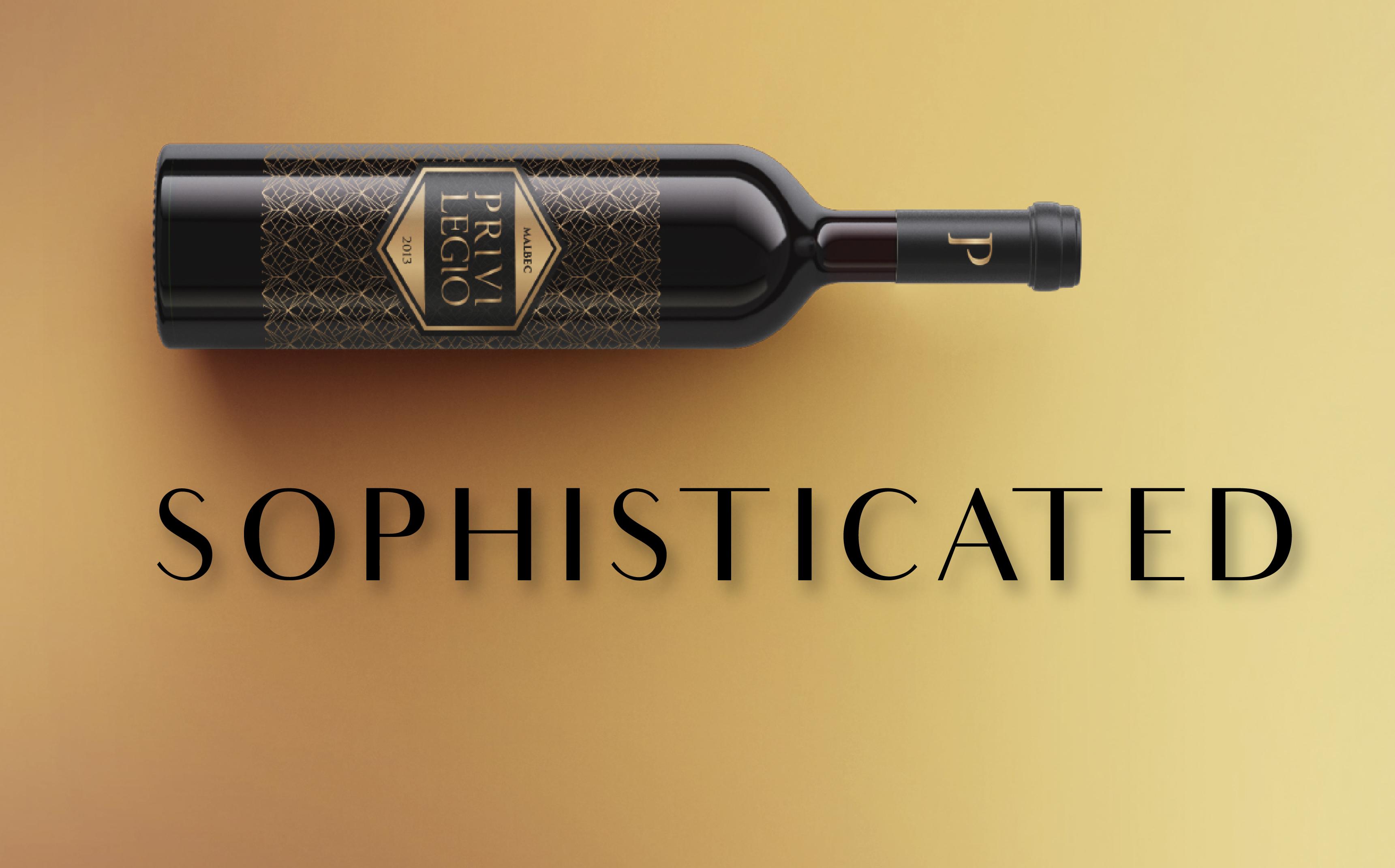 premium wine design