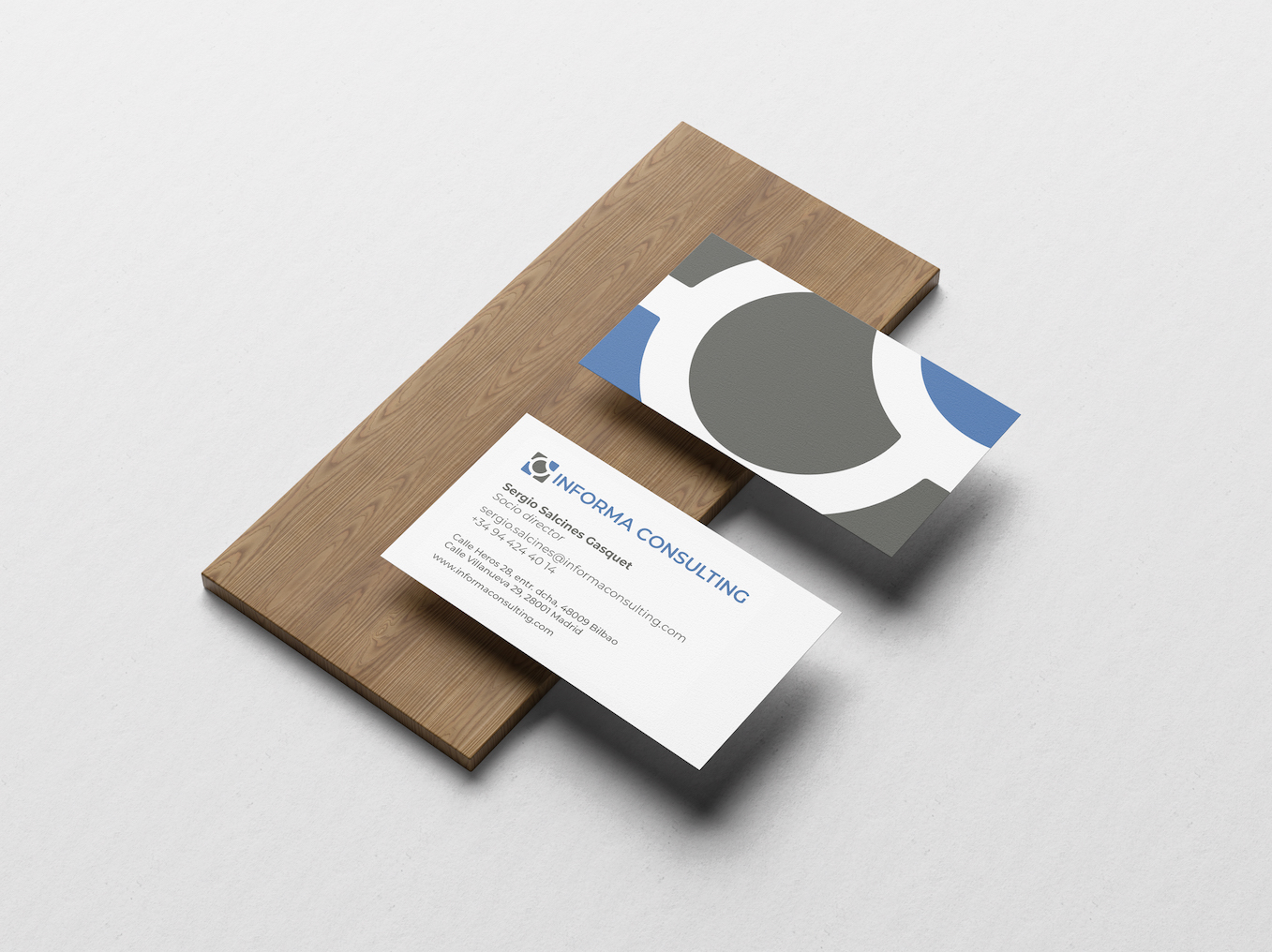 Informa Consulting Business Card