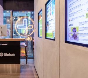 LifeHub Digital Menu