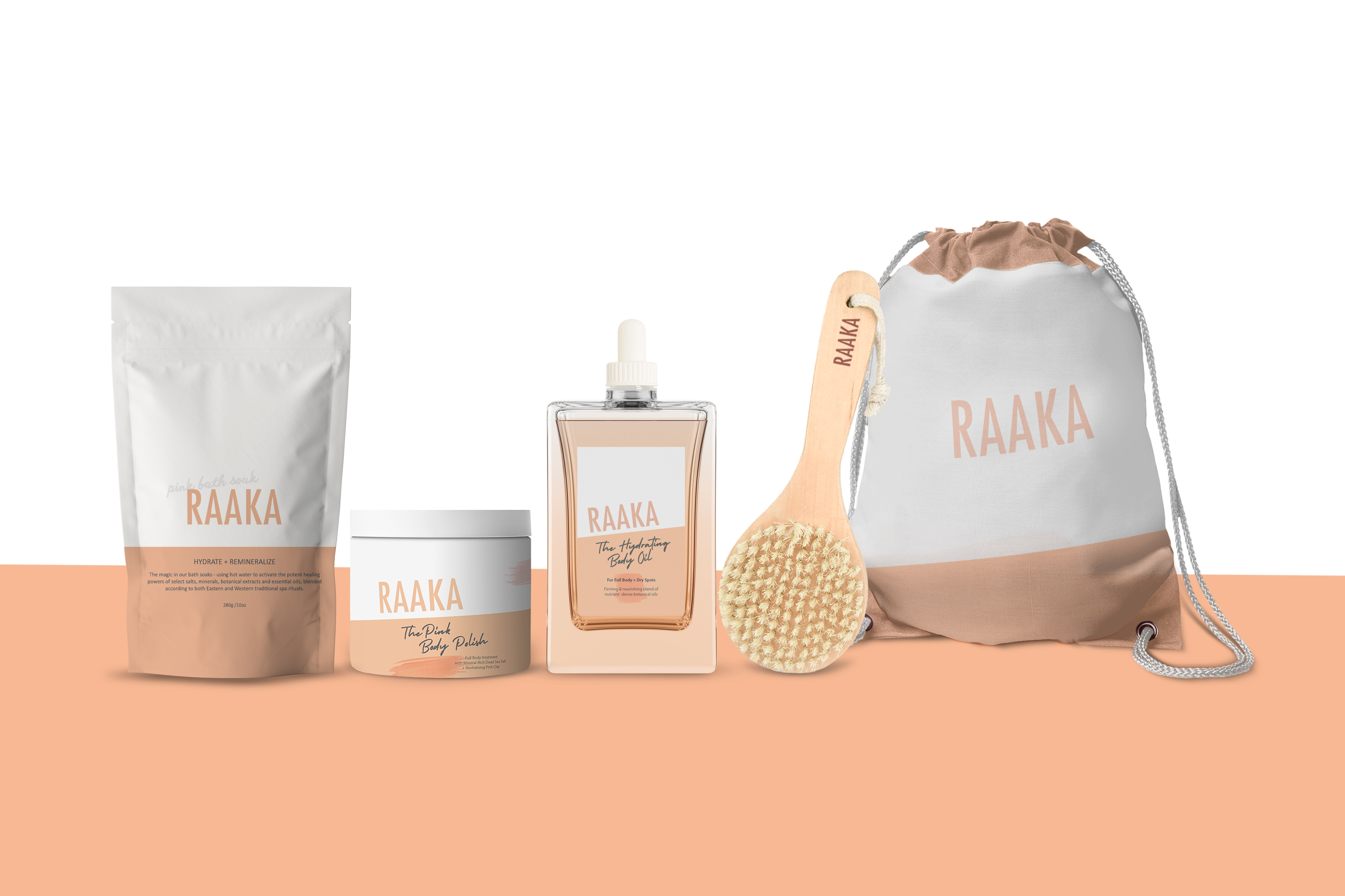 RAAKA packaging design