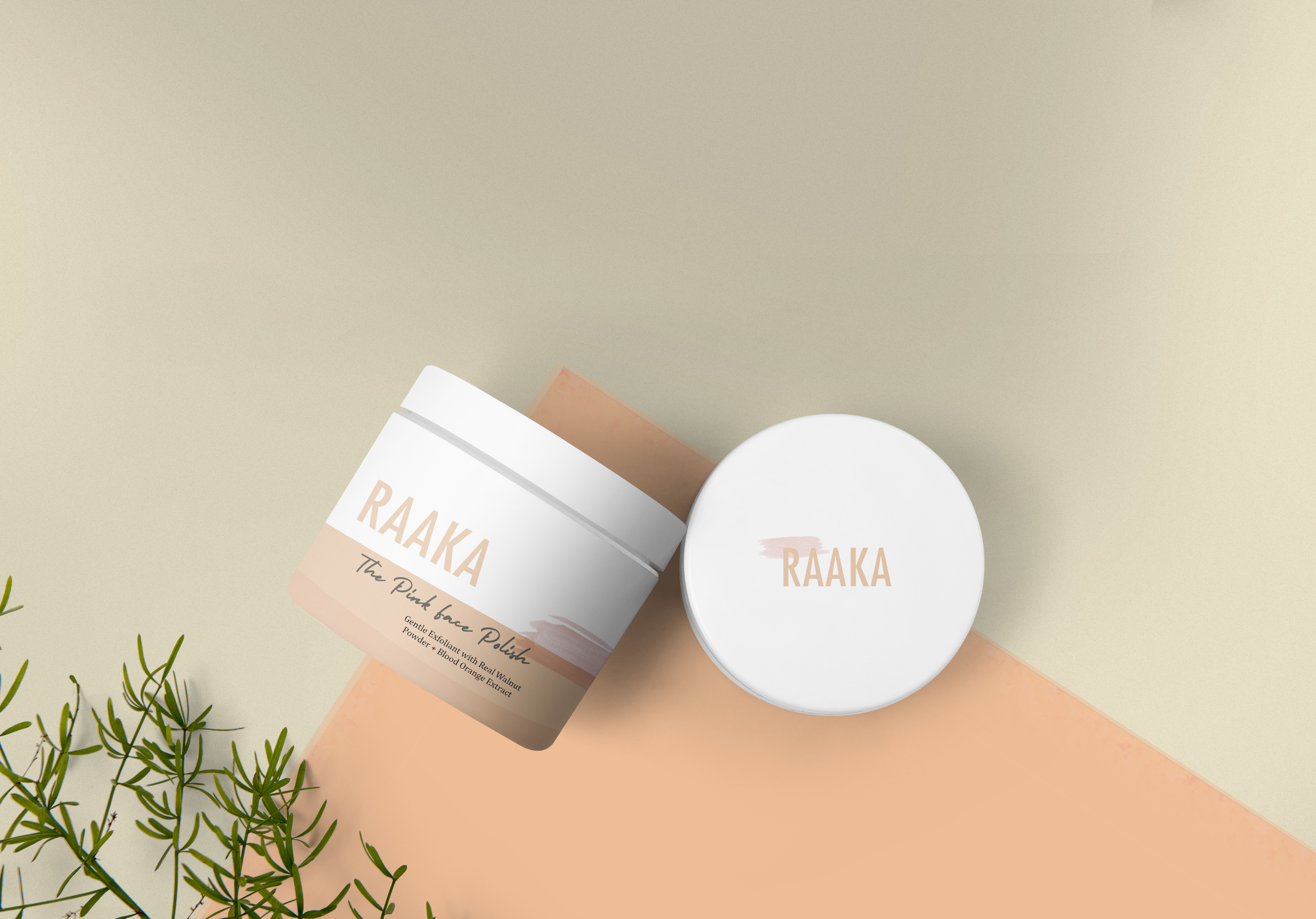 RAAKA packaging design