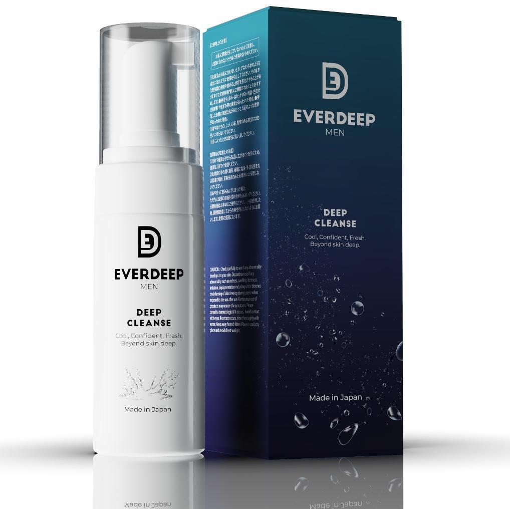EverDeep Men Packaging
